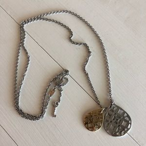 Fossil Two-tone necklace